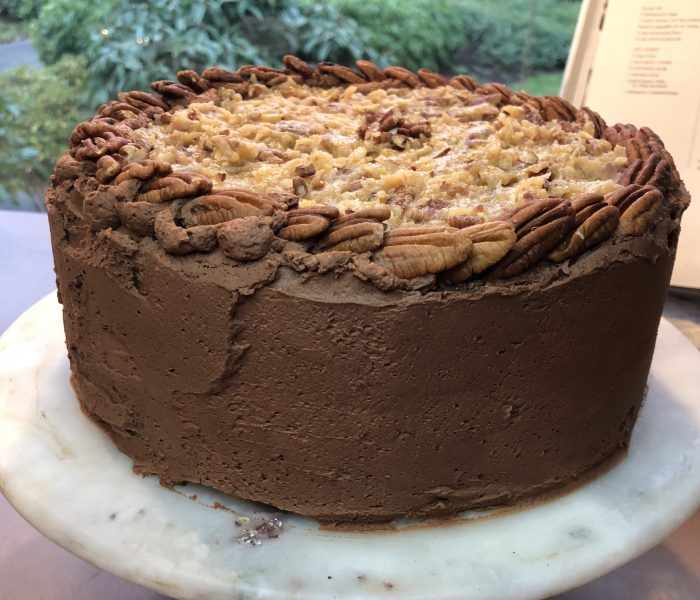 New Year, New Cake: German Chocolate Cake