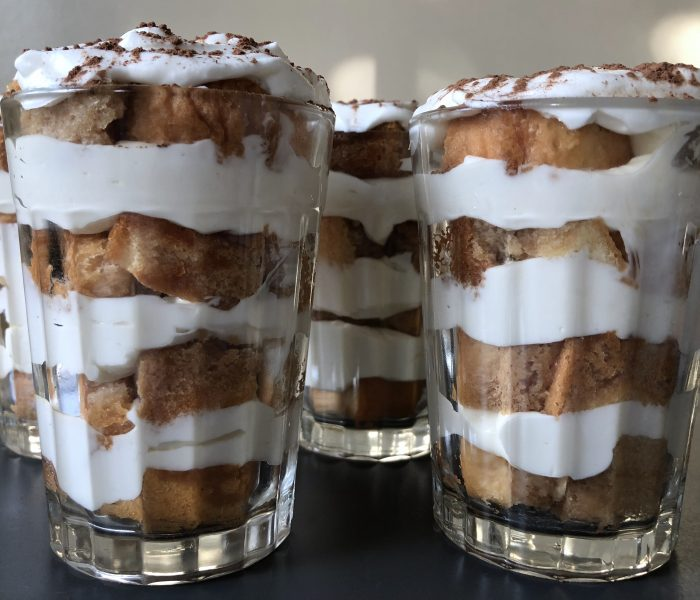 There's Layers to This: Mini Tiramisu