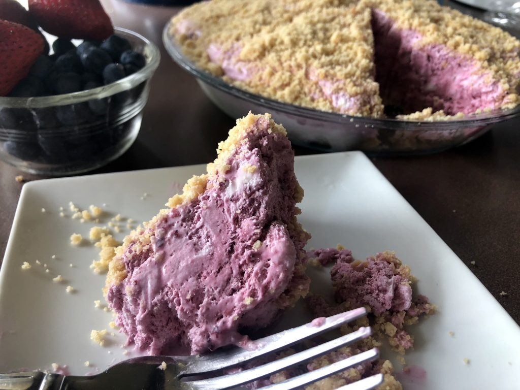 Mile-High Strawberry (and Blueberry) Pie