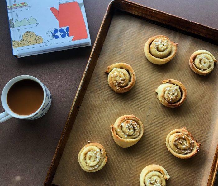 Vetebullar (Swedish Cardamom Buns)